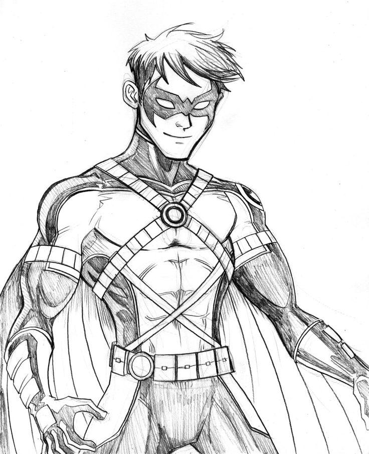 Drawn robin superhero Batman Robin best images @DeviantArt