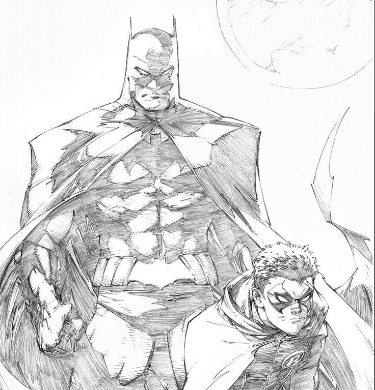 Drawn robin superhero Http://lacomiquera de Pinterest best images