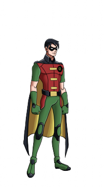 Drawn batman robin #2