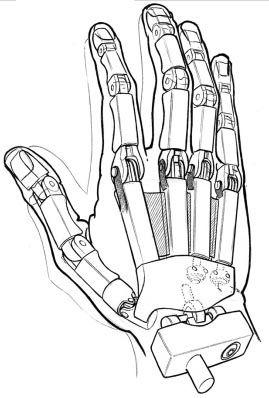 Drawn robot Robot Robot 25+ hand sketch