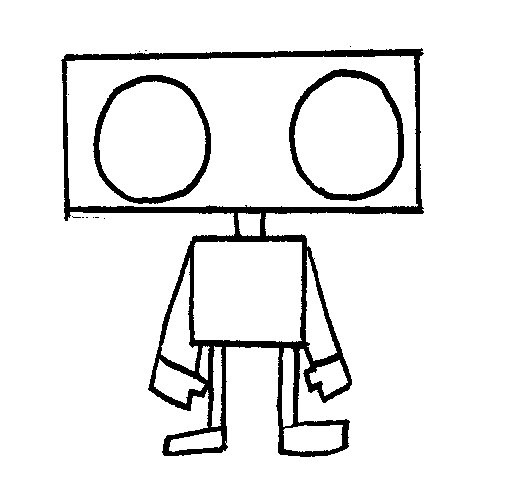 Drawn robot Step Slorance Neil 4 robot