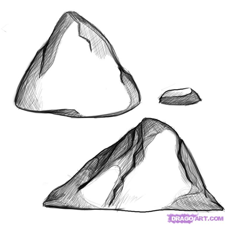 Drawn rock  Step Other Draw how