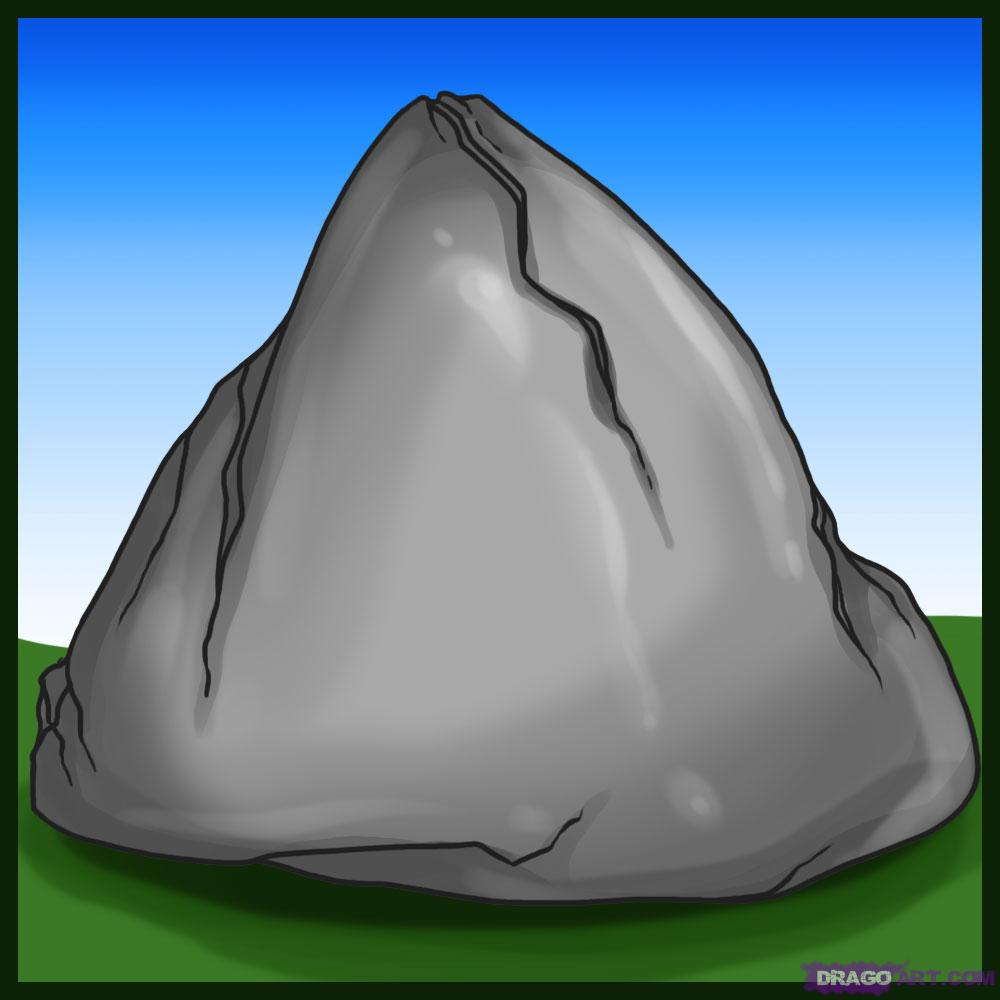 Drawn rock Landmarks & Step how How