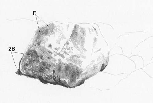 Drawn rock Rock Rock Tutorial 6 Drawing