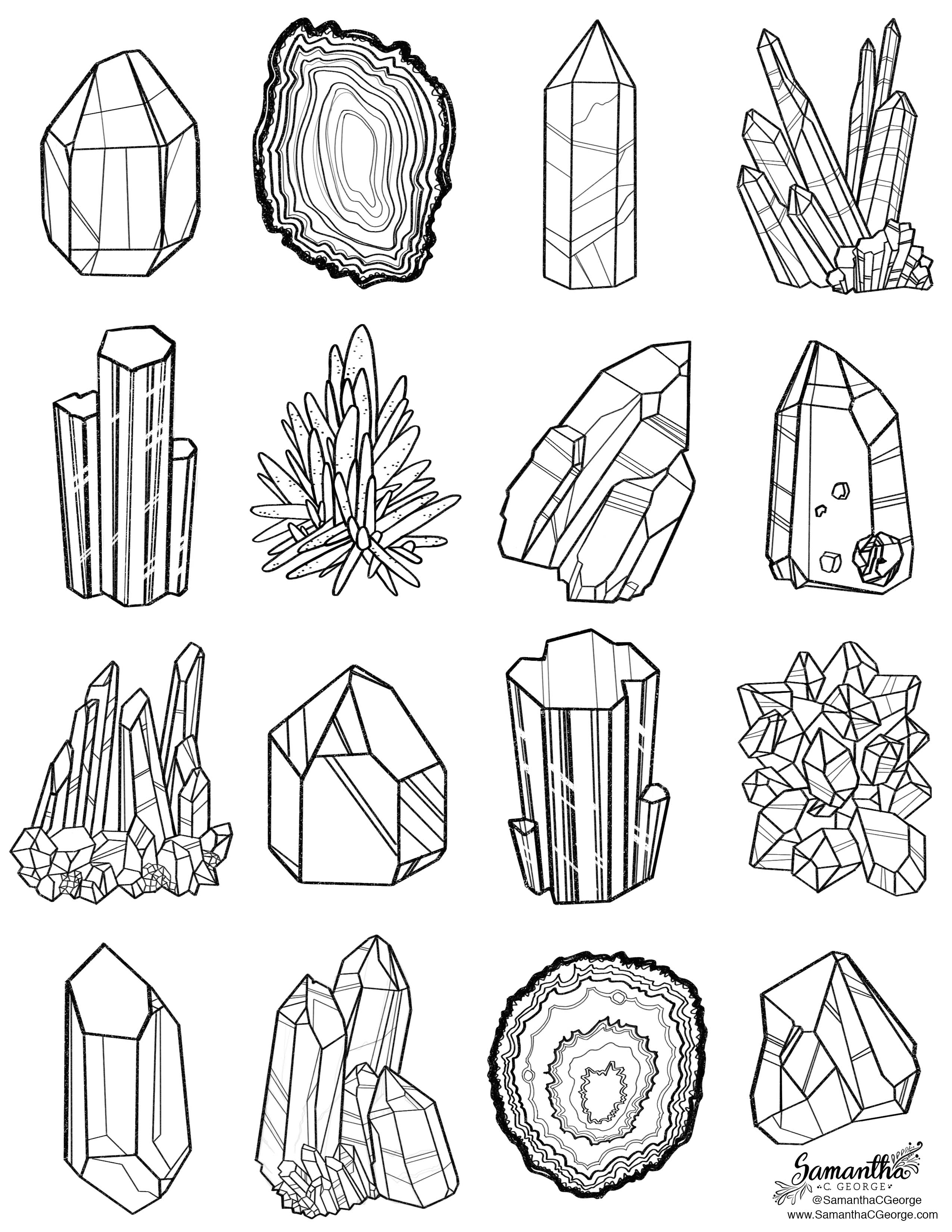 Drawn rock coloring Printables coloring Printable Tattoo page