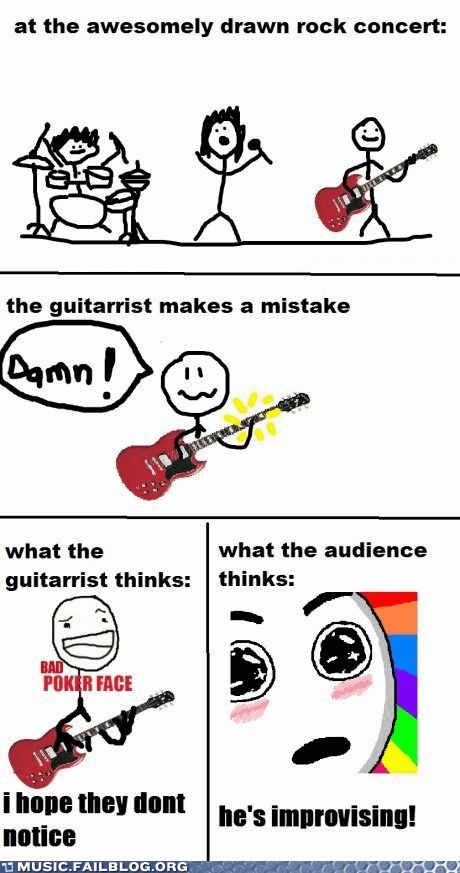 Drawn rock funny Pinterest Rock Guitar best Are