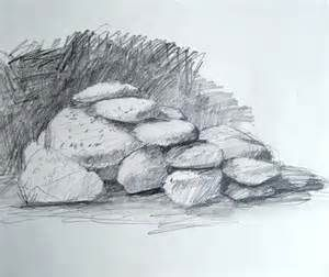 Drawn rock realistic To Bing stones and Realistic