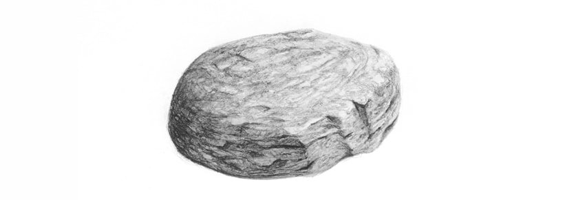Drawn rock realistic Stone realistic a Rock to