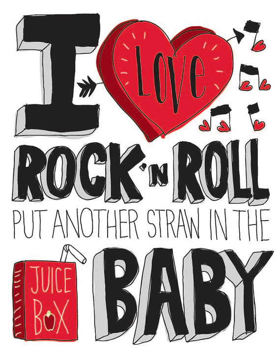 Drawn rock rock and roll Rock Print by Roll Print