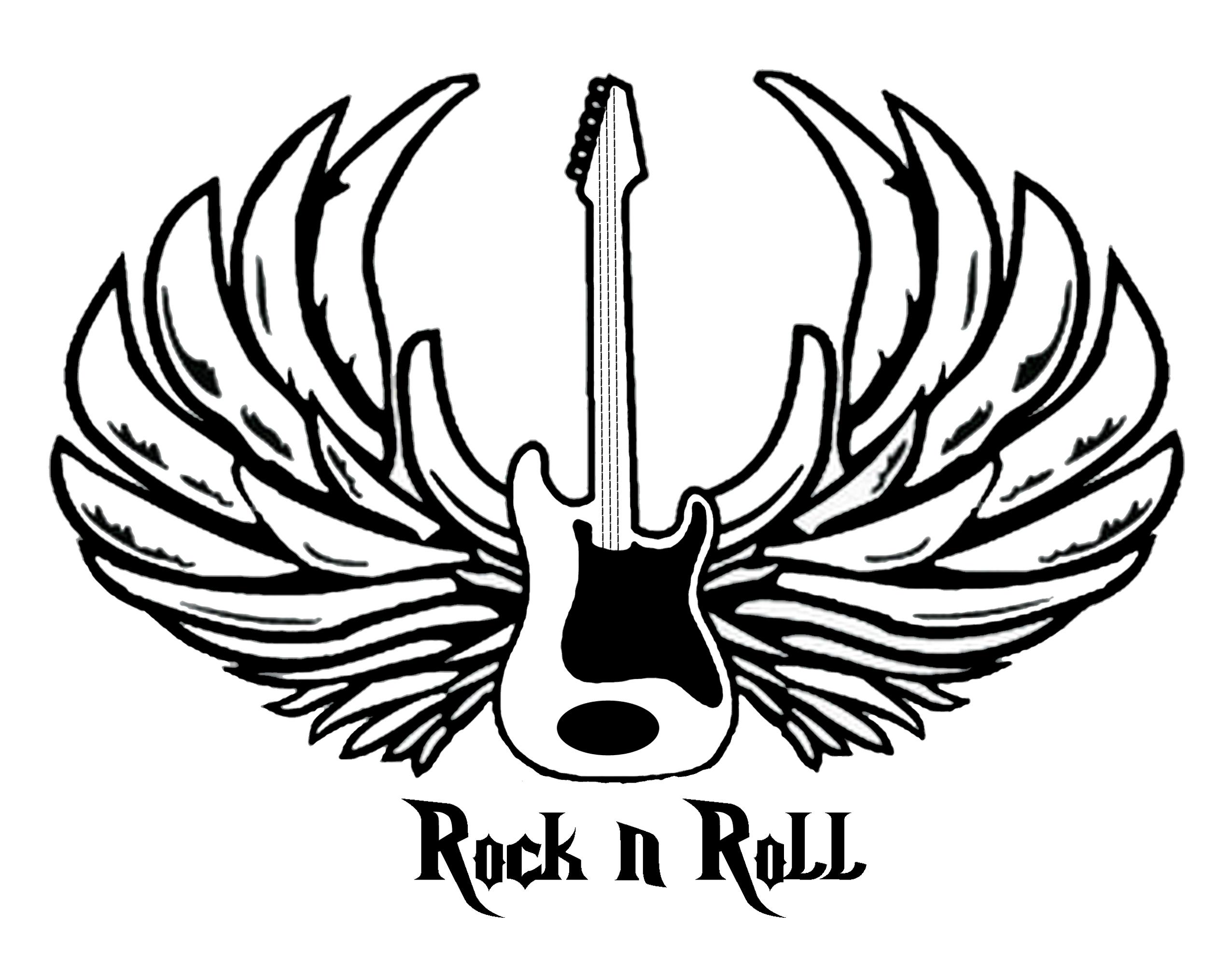 Drawn rock rock and roll Rock'n n  n roll