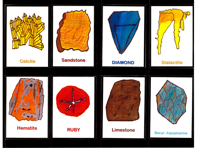 Drawn rock rock mineral Trading Excellence Models 1 of