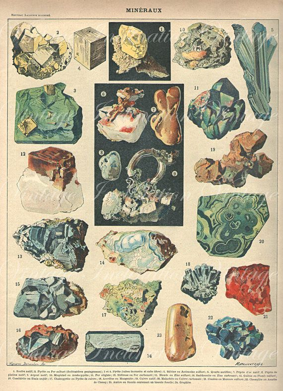 Drawn rock rock mineral Geology Antique images wall Illustrations