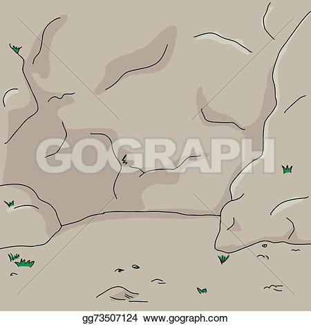Drawn rock rock wall Gg73507124 background Stock face Clip