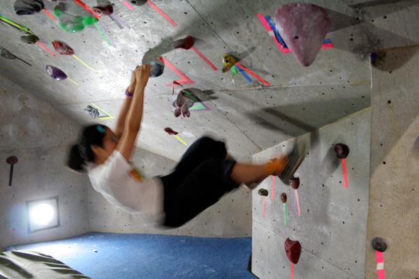 Drawn rock rock wall A a Adventure Climbing It