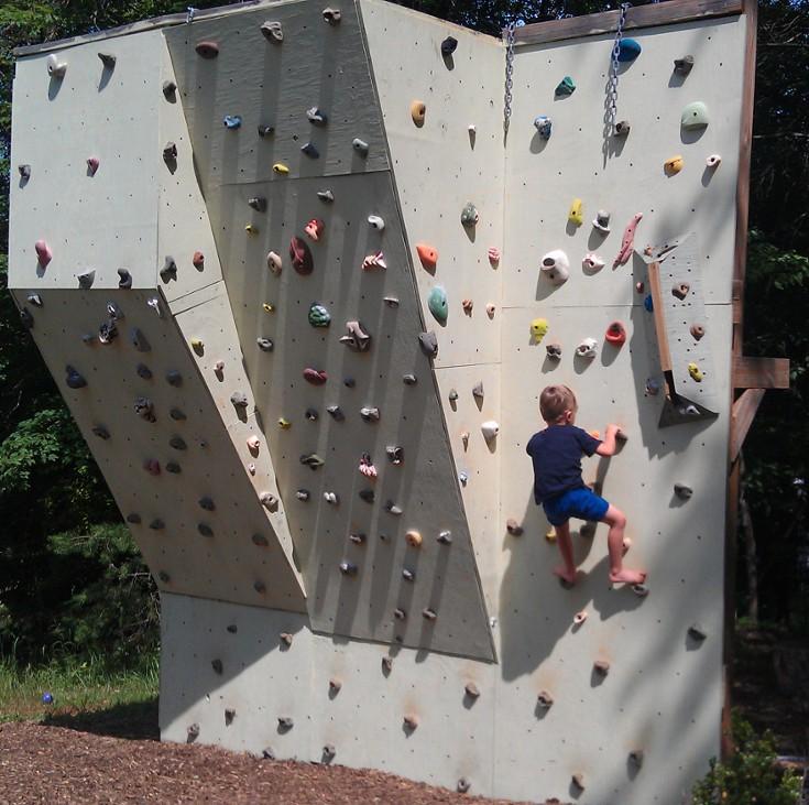 Drawn rock rock wall Wall Backyard Climbing Climbing Wall