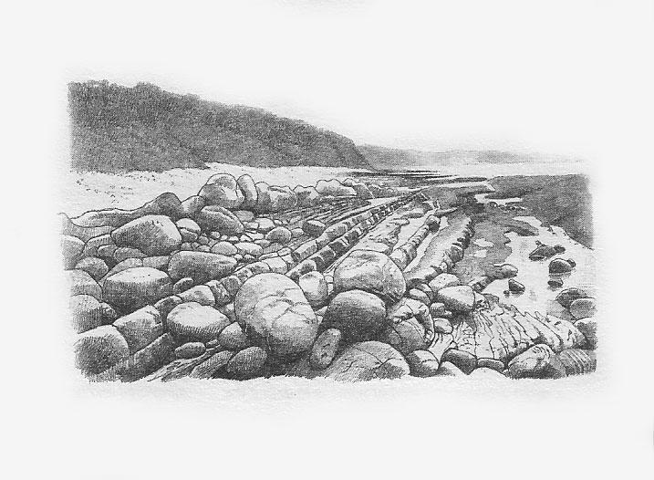 Drawn rock rocky landscape Best Drawing landscape Pinterest &