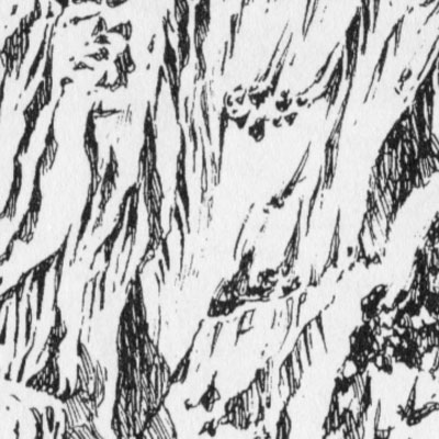 Drawn rock textured By Detail Tezuka 40: MountainFace