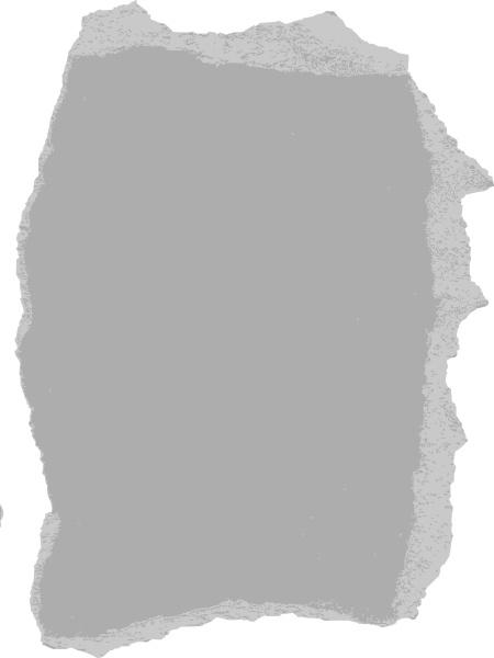Drawn rock torn paper Svg Paper svg Torn clip