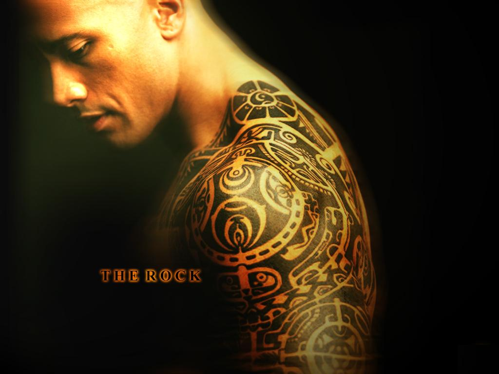Drawn rock wwe the rock THE THE INFAMOUS by Tony