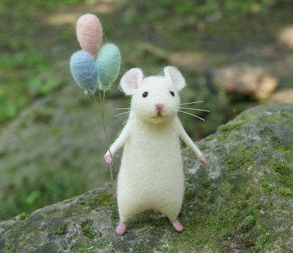 Drawn rodent adorable Cute mouse felt mouse mouse