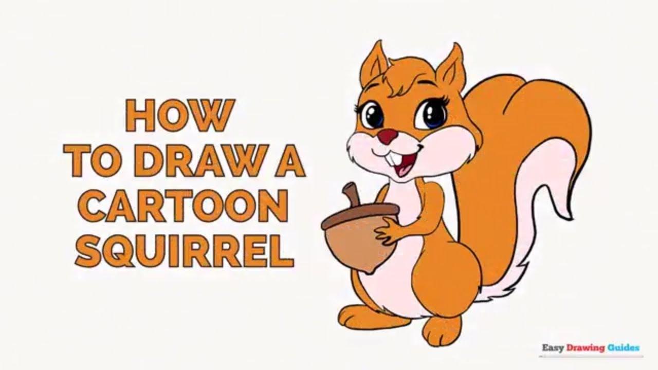 Drawn rodent animated Easy a Cartoon a Cartoon