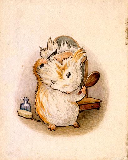 Drawn rodent beatrix potter Book Potter Dapply's Ever Appley