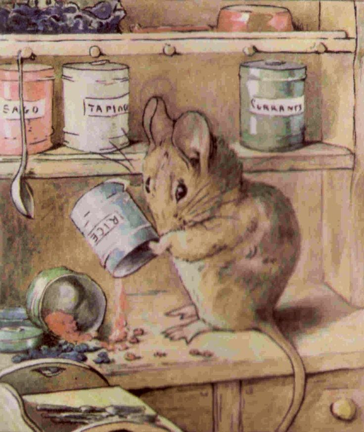 Drawn rodent beatrix potter Are Cottage and Potter's sago