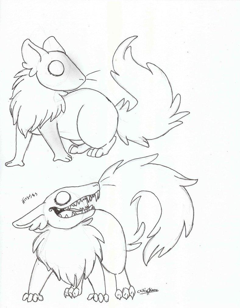 Drawn rodent chibi By chibi by chimera Rodent