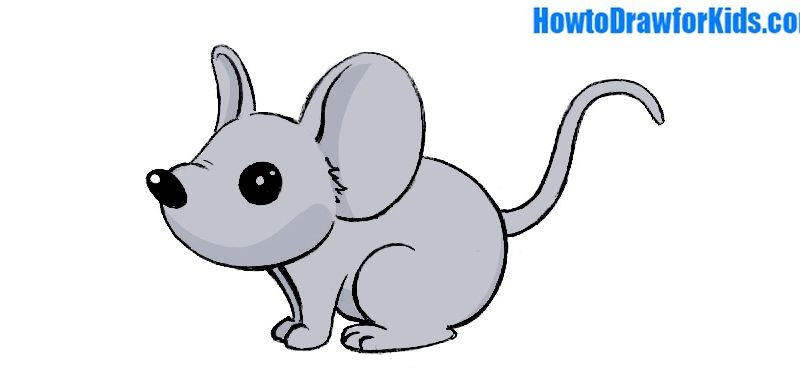 Drawn rodent child Kids Draw  a Mouse