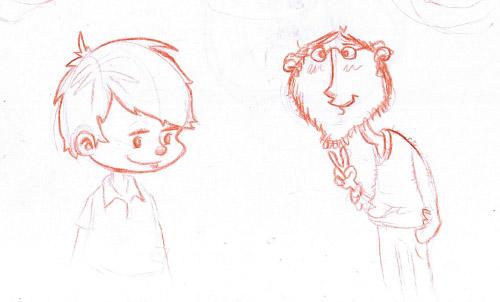 Drawn rodent child Blog Dude Kid pencil «