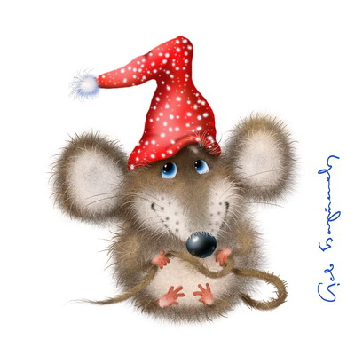 Drawn rodent christmas Mouse Wrendale Christmas Designs Wrendale