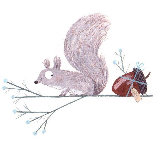 Drawn rodent christmas Ideas illustration Illustrator Pinterest IllustrationChristmas