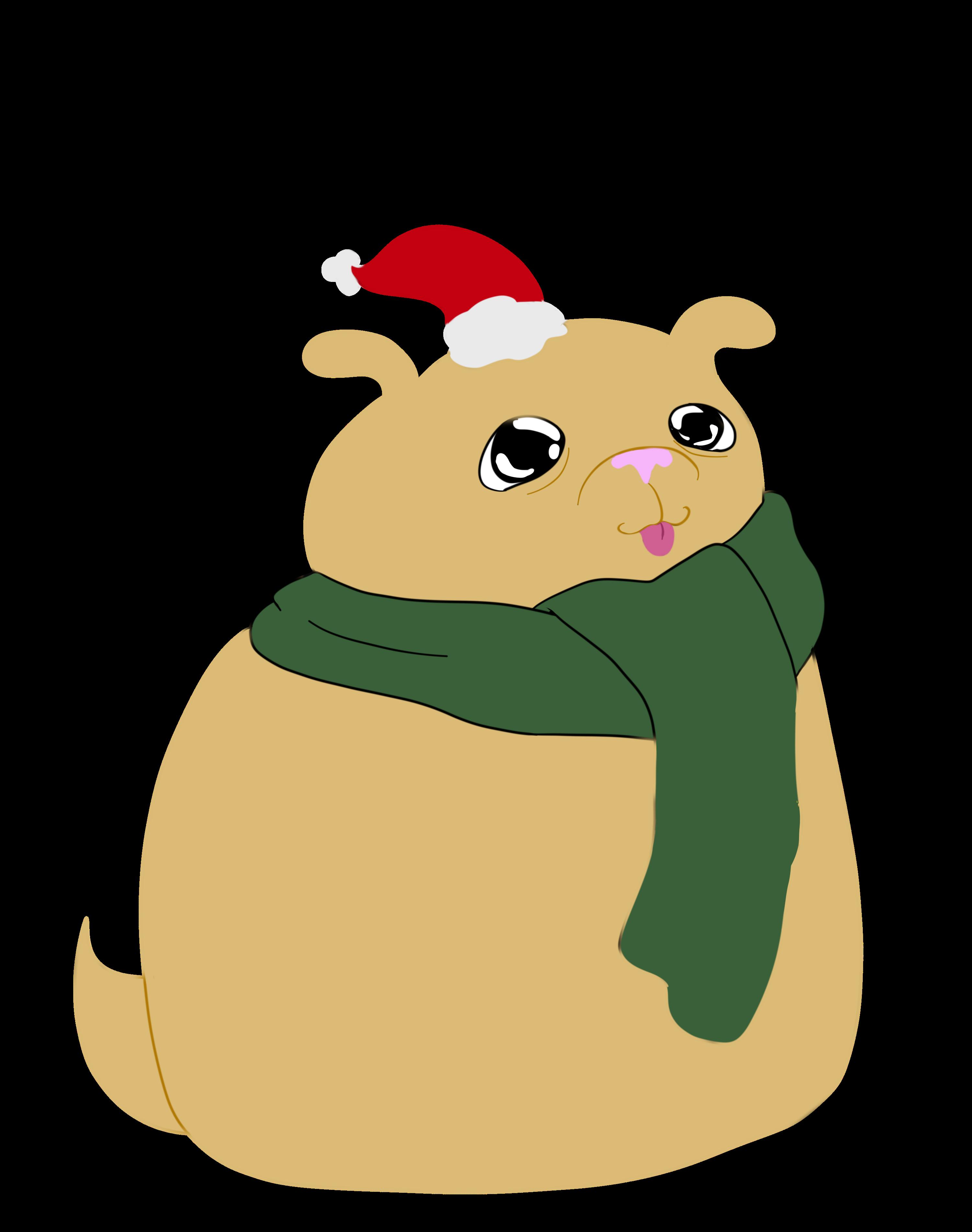 Drawn rodent christmas Christmas — Christmas Pups: Badly