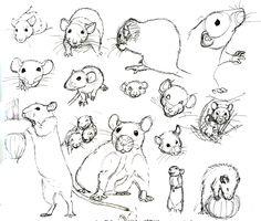 Drawn rat headed @deviantART by deviantart mor deviantart