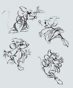 Drawn rodent disney Ratatouille art via Flickr