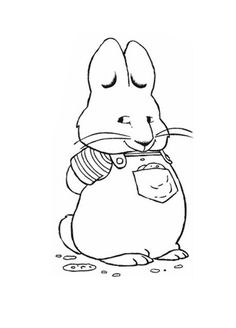 Drawn rodent kindergarten Max a beach And coloring