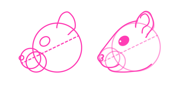 Drawn rodent love Draw Animals: to and to