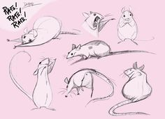 Drawn rodent love Rat Practice Rats nEVEr movement
