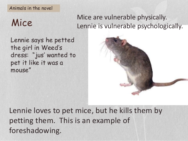 Drawn rodent of mice and man In revision the and novel;