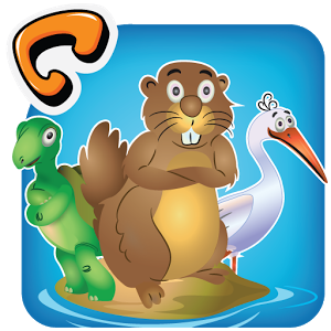 Drawn rodent toddler & Pond on Android Apps