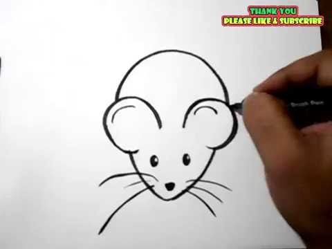 Drawn rodent toddler Drawing Easy a YouTube drawing
