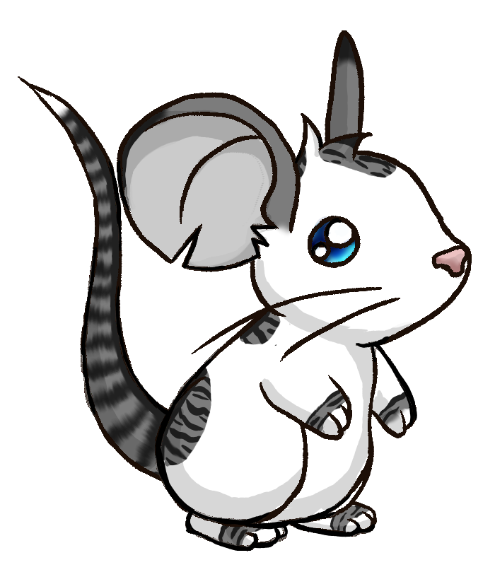 Drawn rodent transformice  SilverMoonNightMist Draw Fur Entry