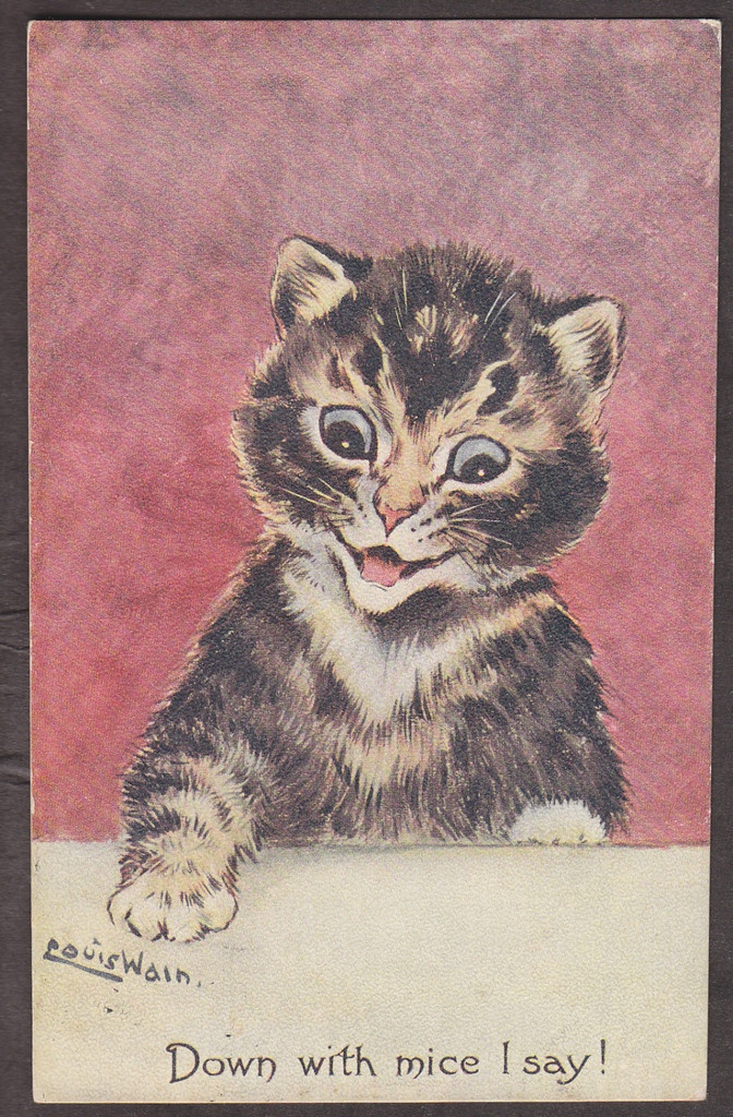 Drawn rodent vintage cat 512 best this ~ Find