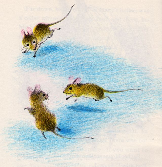 Drawn rodent vintage garden By 360 House Mouse Adrienne
