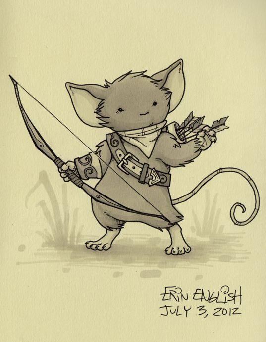 Drawn rodent wallpaper Guard on DeviantArt images by
