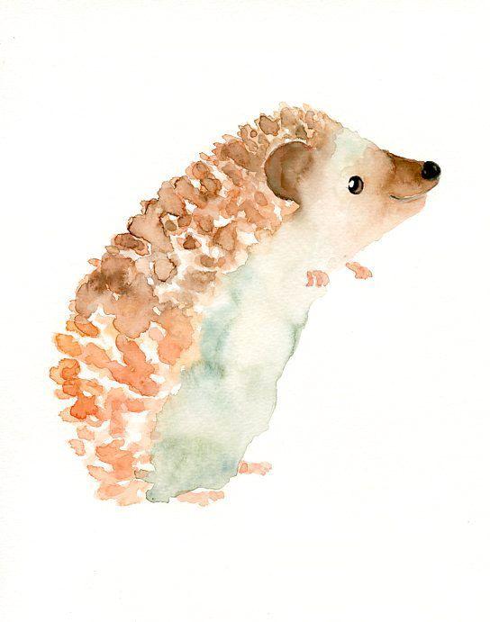 Drawn rodent watercolour 25+ Original painting Pinterest watercolor