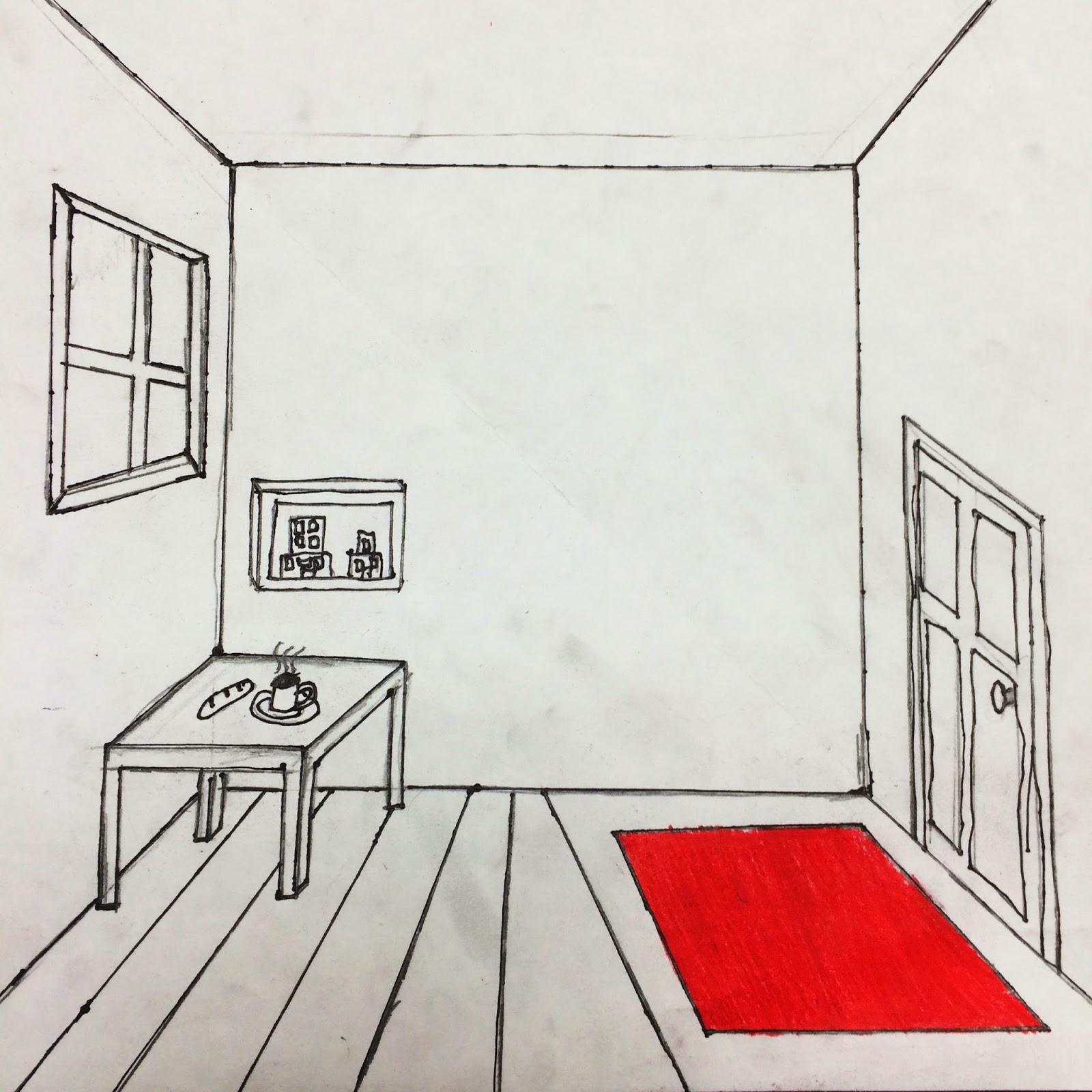 Drawn bedroom perspective In Room The Helpful Draw