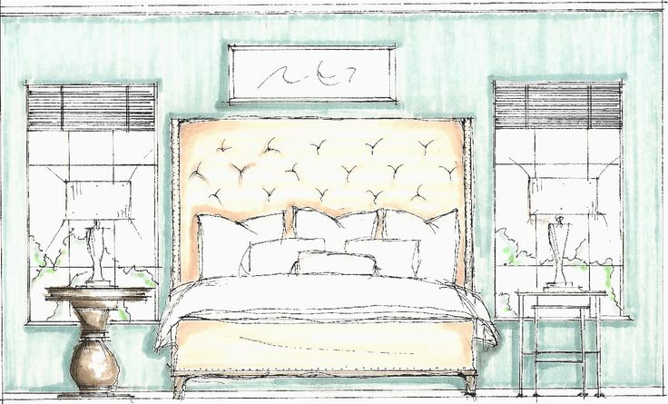 Drawn bedroom black and white And Sketches Sketch Bedroom Drawing