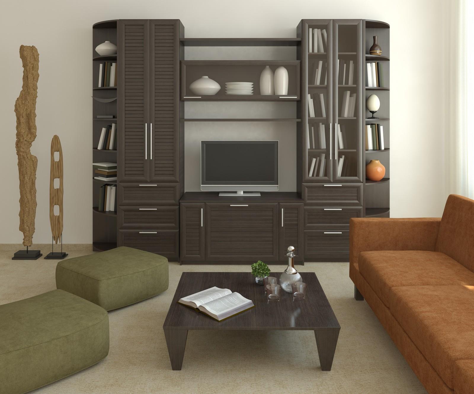 Drawn room dark corner  Style Zigzag Living Style