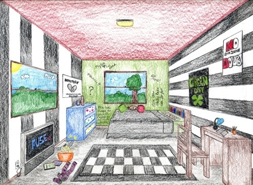 Drawn room dream Dream and more Bedrooms Perspective